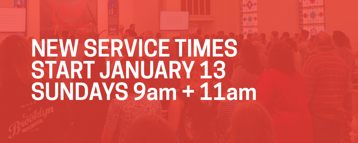 New Service Times